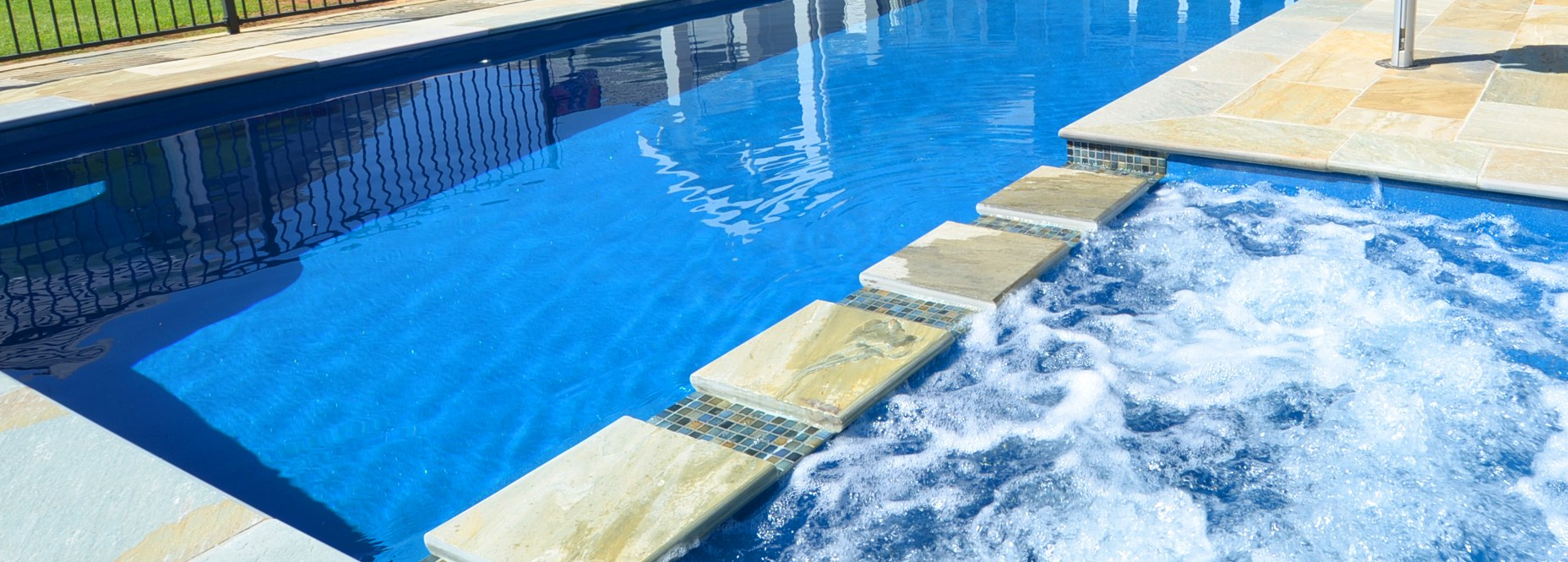 bgs pools and spas compass fibreglass swimming pools with ...